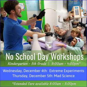 December No School Day Workshops Spr