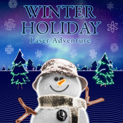 Winter Holiday Laser Adventure