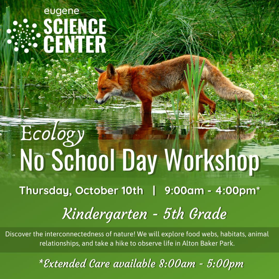 Ecology No School Day Workshop October 2019