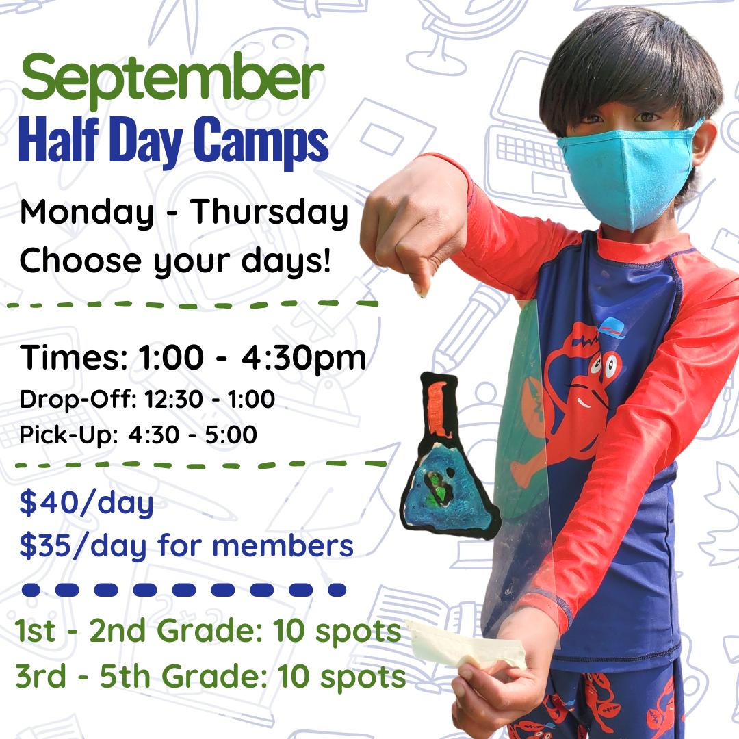September Half-Day Camps