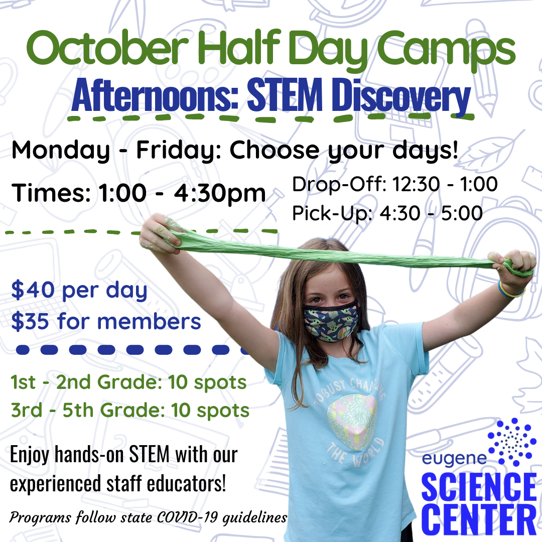 October Half-Day Camps